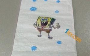 тоалетна хартия sponge bob