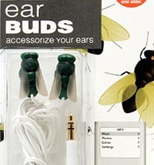 fly ear buds - слушалки с форма на муха