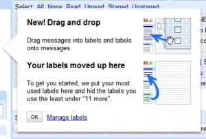 gmail labels update