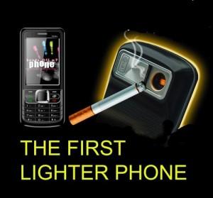 мобилен телефон със запалка