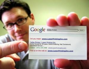 Визитни картички - google