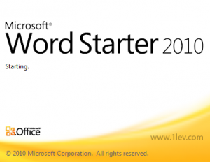 ms office 2010 starter - free download