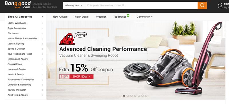 Пазаруване от banggood, регистрация banggood, китайски онлайн магазин