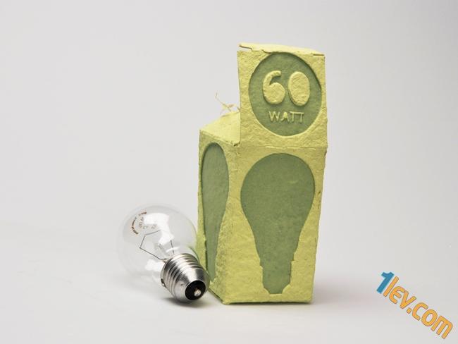 опаковка електрическа крушка
