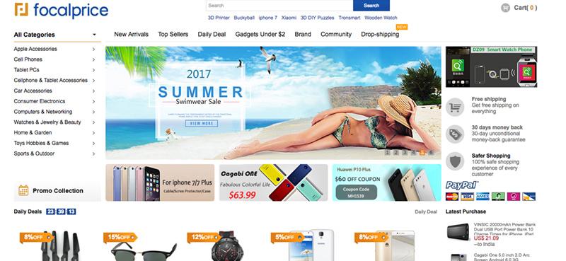 Пазаруване от FocalPrice - безплатна доставка на китайски стоки
