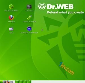 dr Web - liveUSB - antivirus