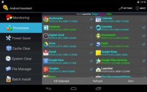 Android Assistant - контрол и управление