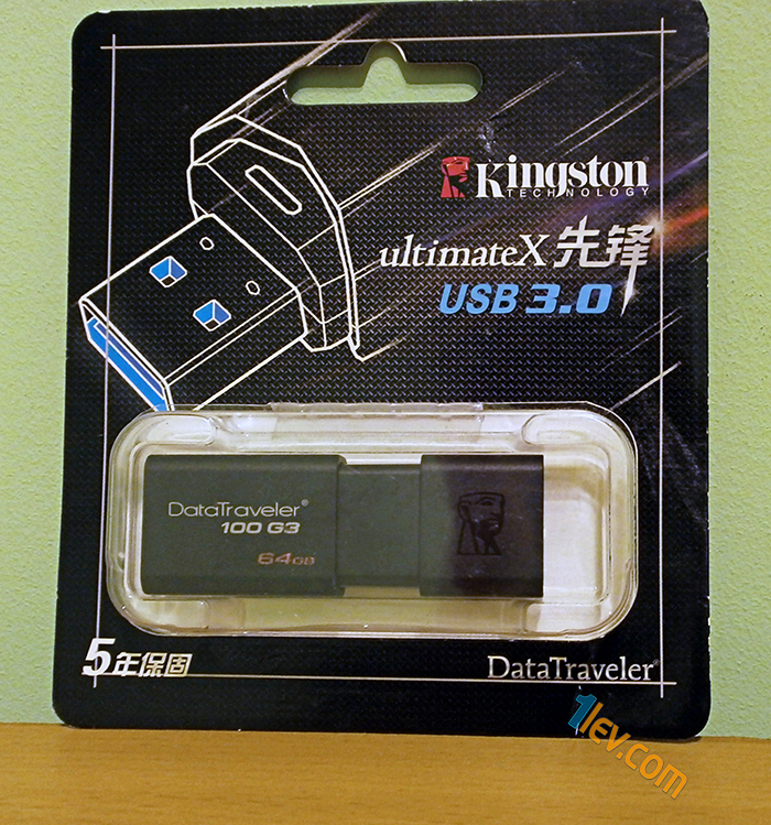 kingston datatraveler 100 g3 64GB от TinyDeal