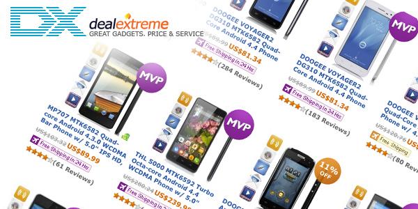 смартфони от dx.com - китайски онлайн магазин за смартфони
