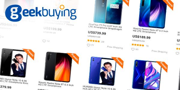 Смартфони от китайски онлайн магазини - GeekBuying
