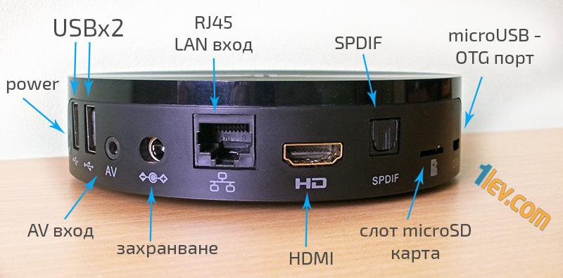 mbox s82 Android 4K tv box - ревю