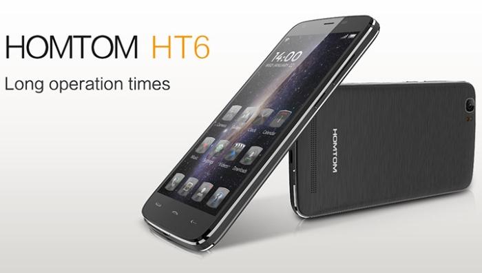 DOOGEE HOMTOM HT6 4G - цена, ревю, поръчка