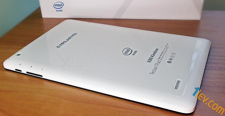 Teclast X89 Kindow - таблет, гръб