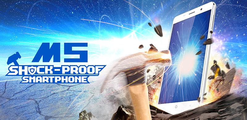 Leagoo M5 е стилен, удароустойчив и евтин смартфон от Aliexpress