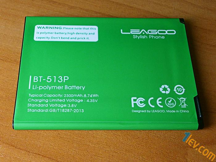 Leagoo M5 батерия
