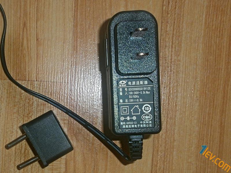 адаптер захранване, с преходник включен в комплекта