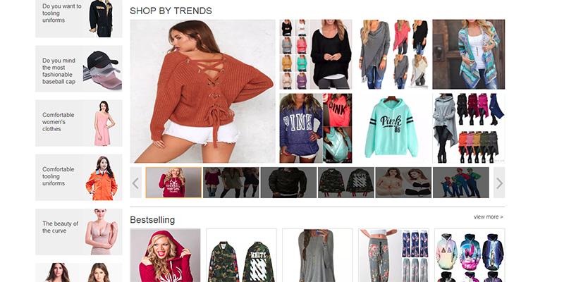 Пазаруване от DHgate.com - официални дрехи, палта и якета, рокли и панталони