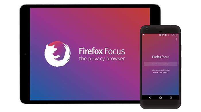 Firefox Focus браузър за смартфони и таблети без реклами