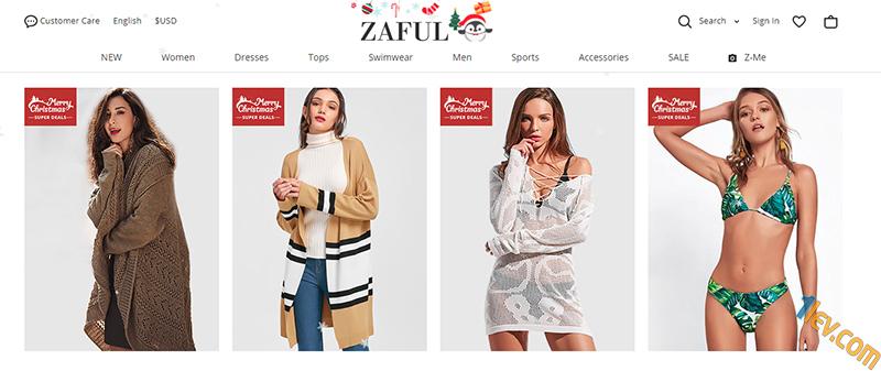 Zaful.com - китайски онлайн магазин за дрехи. Регистрация, пазаруване, информация