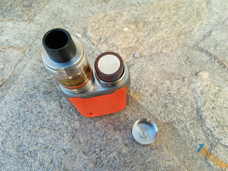 Vaporesso Swag работи с батерия тип 18650