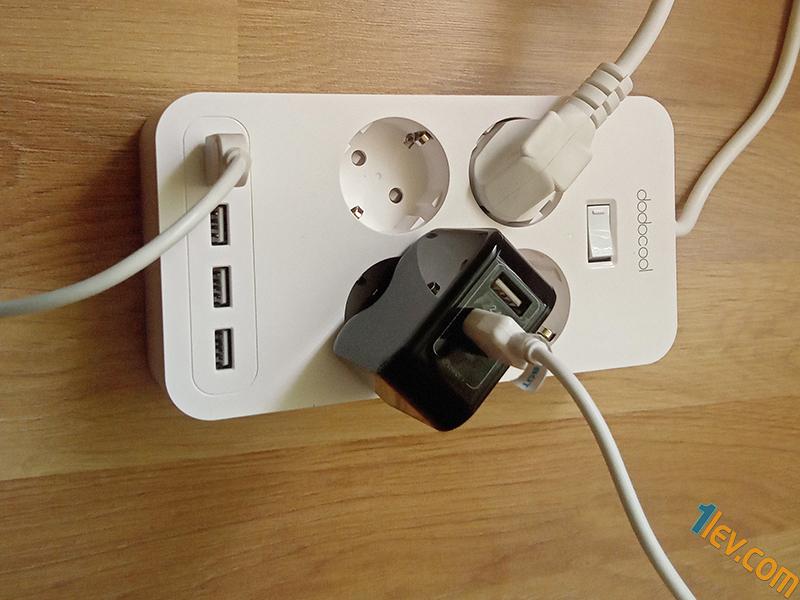 С правилна подредба на включените кабели ще си осигурите до 8 устройства накуп