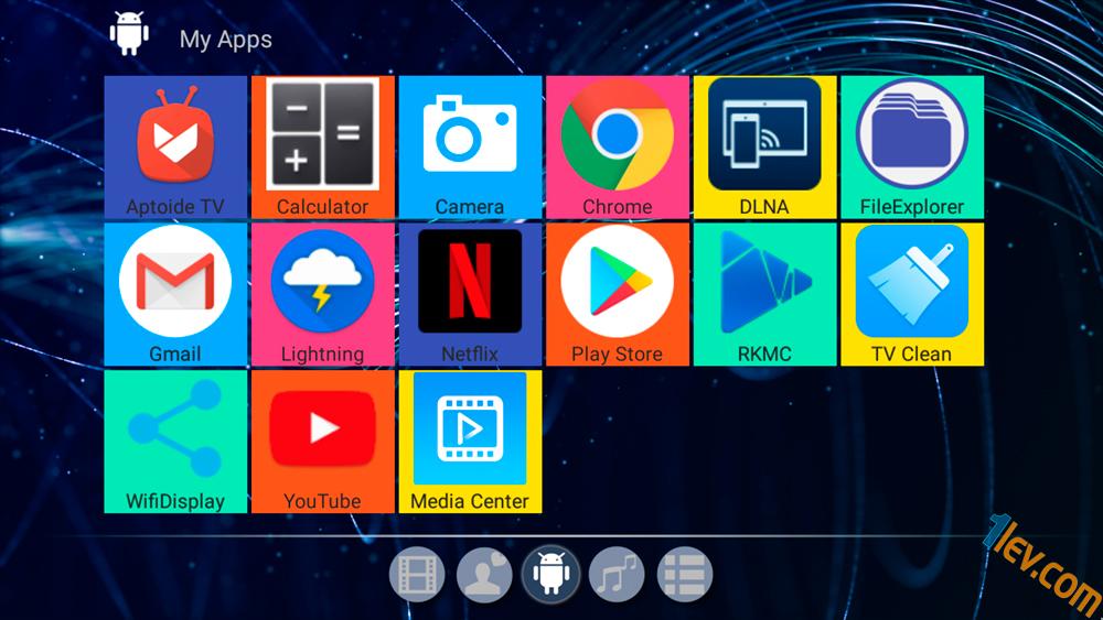 апликации в смарт ТВ бокс Alfawise A8