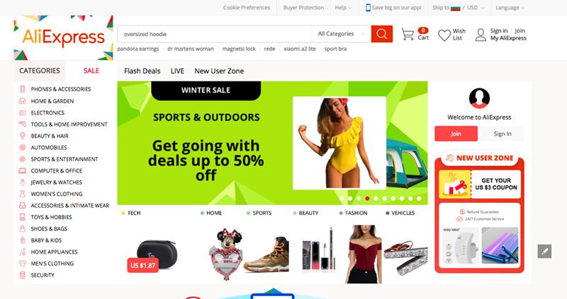 пазаруване от алиекспрес, стоки от Китай, плащане и регистрация. Всичко за Aliexpress