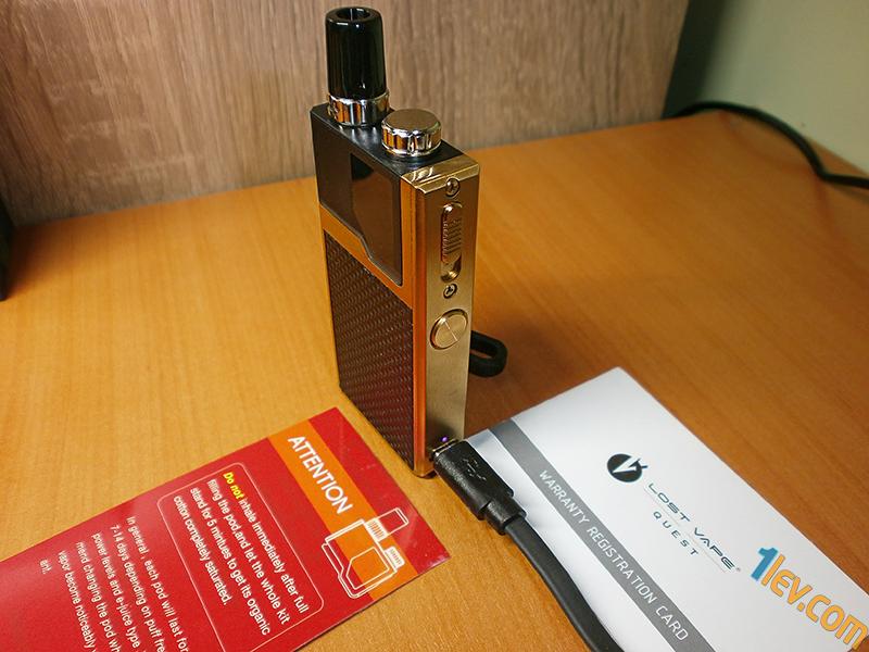 Lost Vape Orion Q POD kit за никотинови соли и никотинови течности