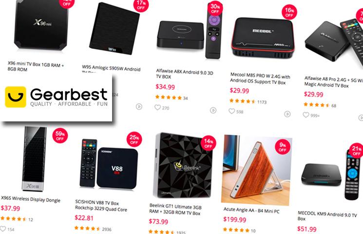 GearBest e е един от най-добрите магазини за ТВ бокс устройства. ТВ бокс на ниски цени. Как да гледаме безплатно телевизия и филми онлайн?