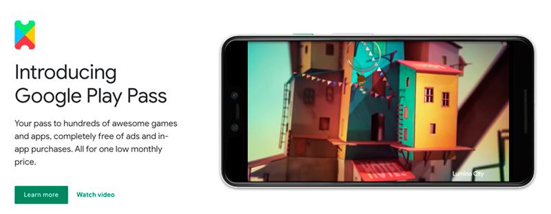 Google обяви старта на услугата Play Pass, която ще предлага платен абонамент за игри и приложения от Google Play