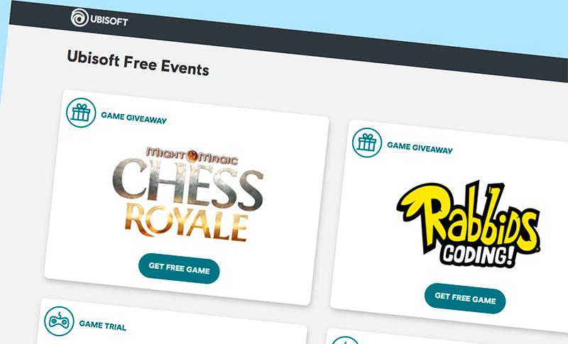 Ubisoft Store подарява игри- безплатно и завинаги