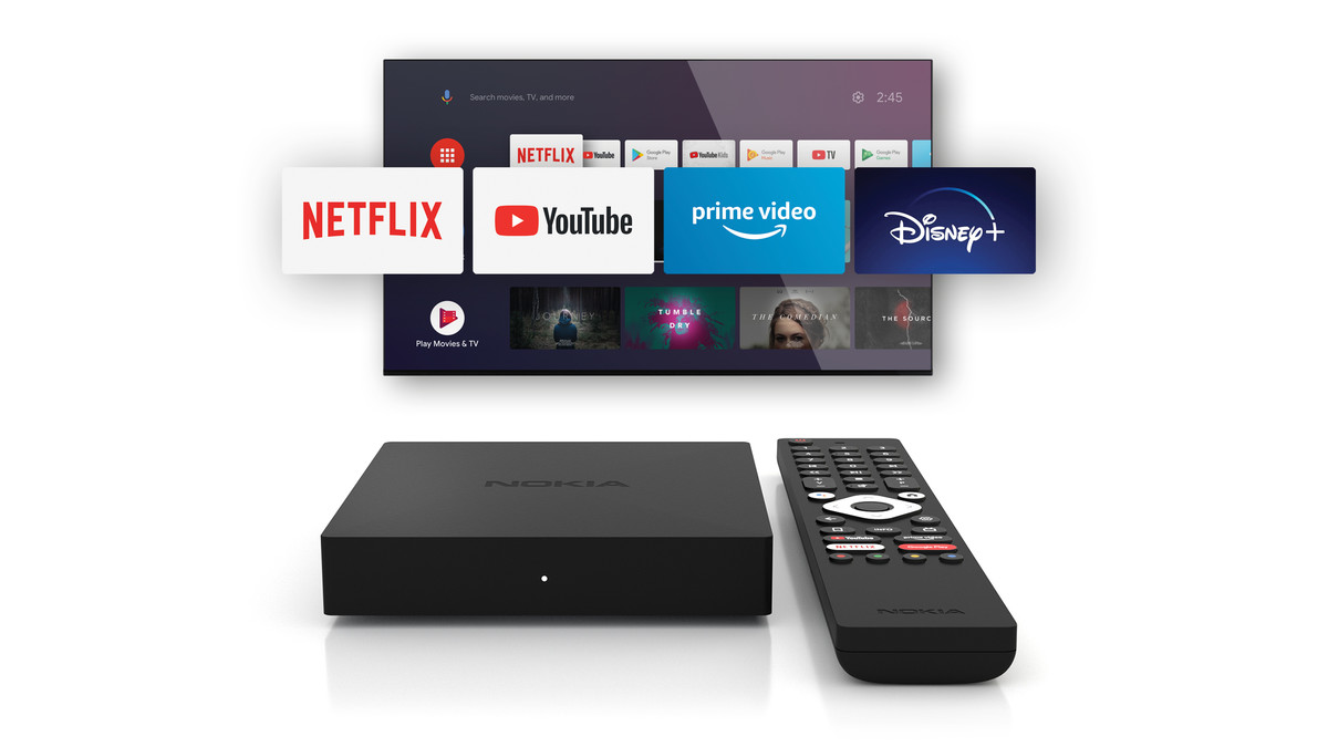Nokia Streaming Box 8000 е тв бокс с Android 10