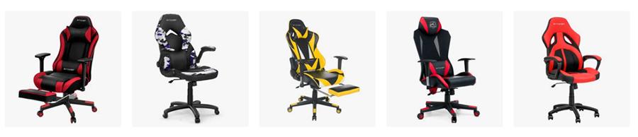 към всички модели геймърски столове на Blitzwolf в BangGood